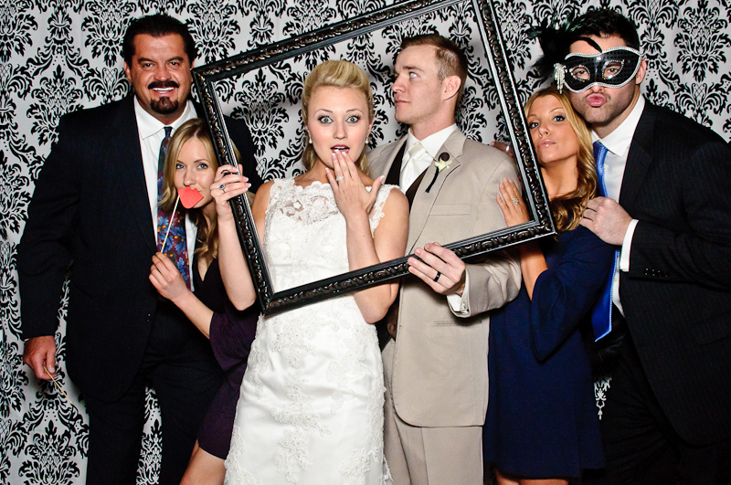 wedding-photobooth-bride-groom Nashville Wedding Photo Booth | Amanda + Justin
