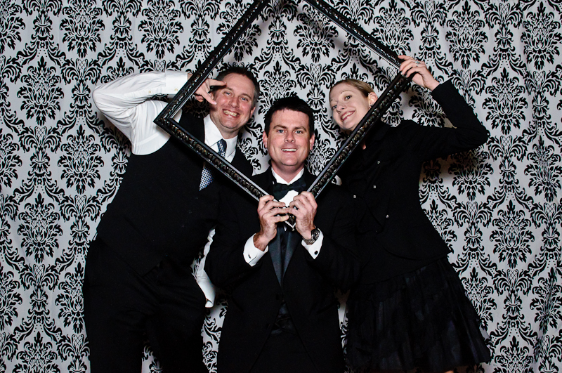 wedding-photobooth-frame-prop Nashville Wedding Photo Booth | Amanda + Justin