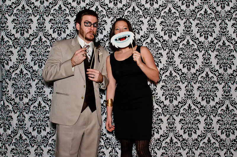 wedding-photobooth-props Nashville Wedding Photo Booth | Amanda + Justin