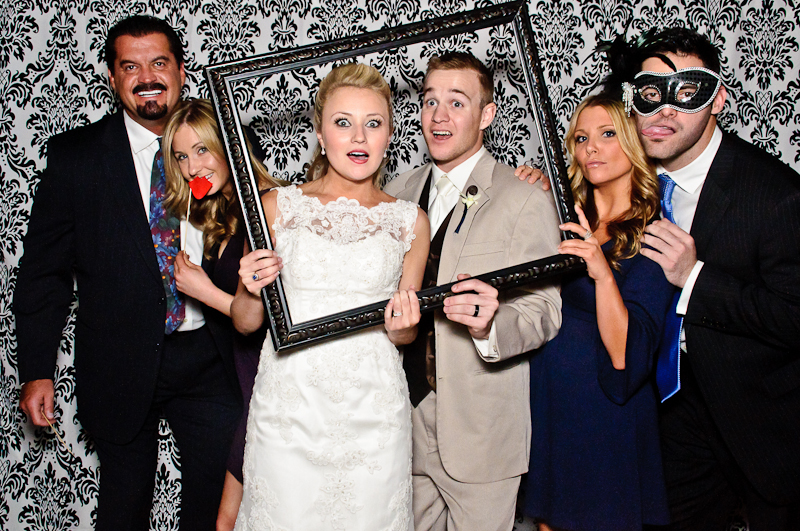 wedding-photobooth-reception-party Nashville Wedding Photo Booth | Amanda + Justin