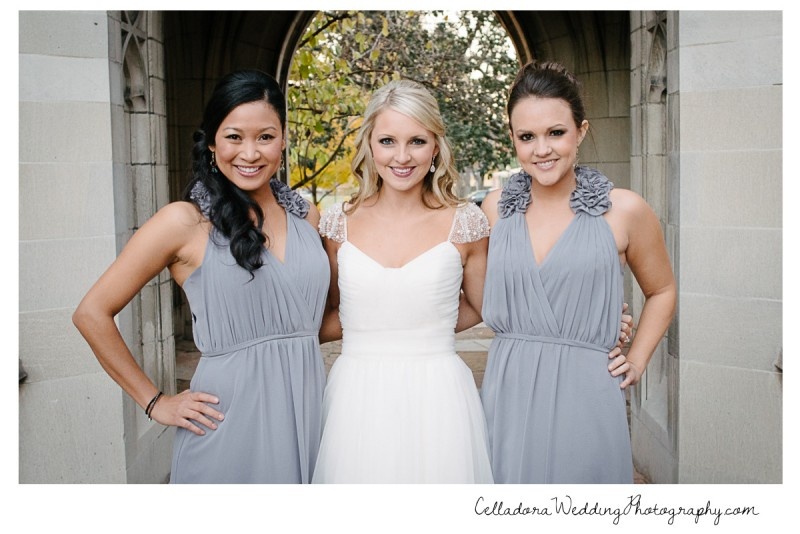 bride-and-bridesmaids-800x534 Laura and Kevin Nashville Wedding at Scarritt Bennett