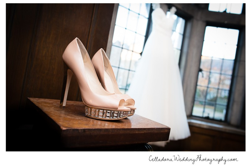 wedding-dress-and-shoes-details-800x534 Laura and Kevin Nashville Wedding at Scarritt Bennett