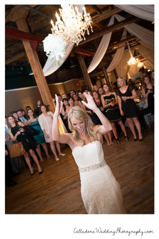 bouquet-toss-533x800 Catherdral of the Incarnation Wedding | Avenue Reception | Erin + Zach