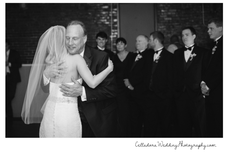 father-daughter-dance Catherdral of the Incarnation Wedding | Avenue Reception | Erin + Zach