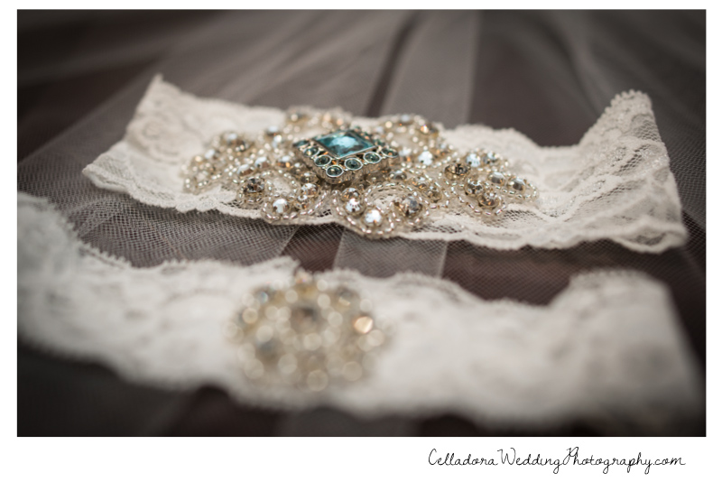 wedding-garter Catherdral of the Incarnation Wedding | Avenue Reception | Erin + Zach