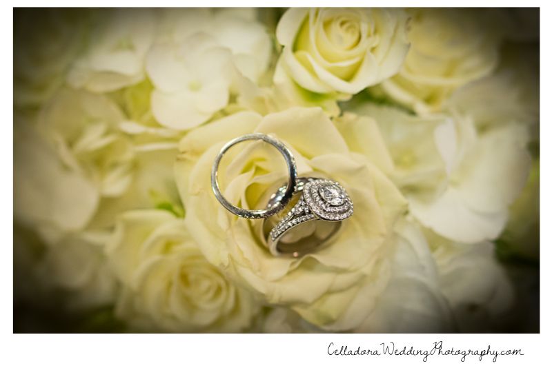 wedding-rings-on-flowers Catherdral of the Incarnation Wedding | Avenue Reception | Erin + Zach