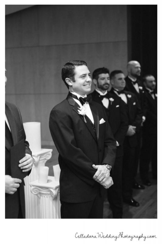groom-seeing-bride-533x800 Nashville Wedding Photography   WO Smith Music School