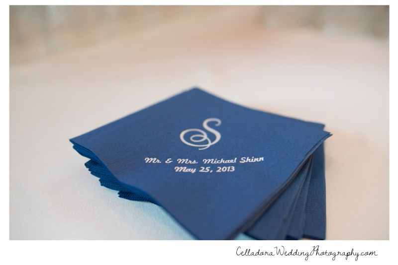 wedding-napkins-monogram-800x534 Nashville Wedding Photography   WO Smith Music School