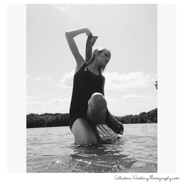 model-in-lake Nashville Photographers Having Fun At PhotoPalooza2013