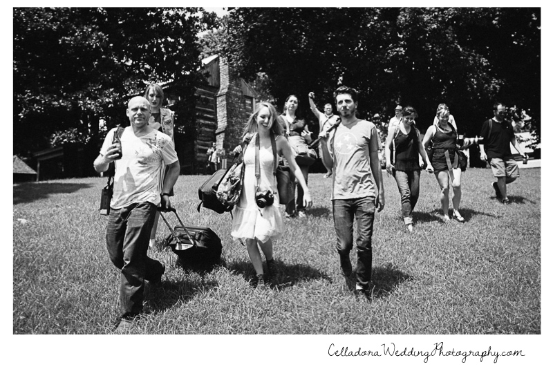 nashville-photographers-walking Nashville Photographers Having Fun At PhotoPalooza2013