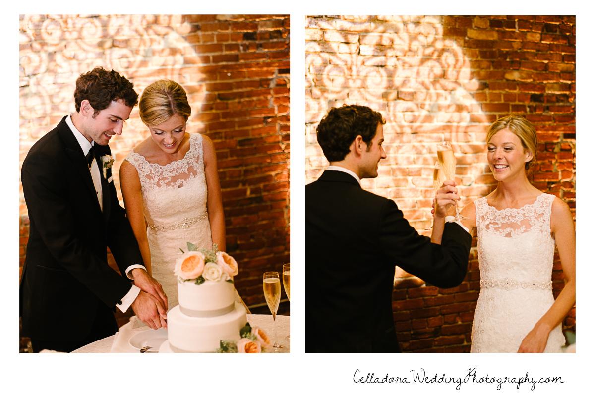 Celladora Wedding Photography Cake Cutting And Toast