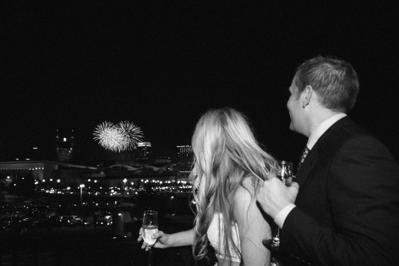 4th-of-july-wedding-fireworks-800x533 One Cannery Ballroom Nashville 4th of July Wedding   Brian and Jenna