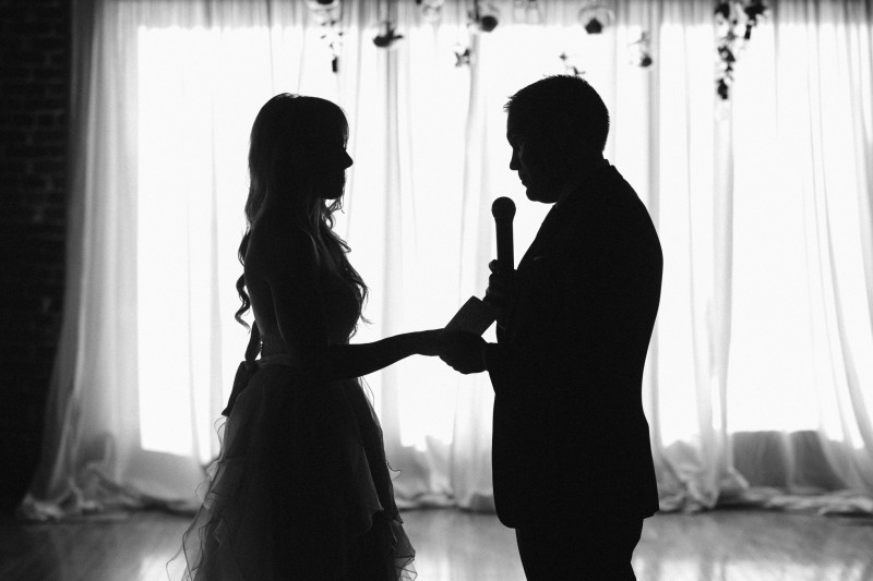 bride-and-groom-silhouette-800x533 One Cannery Ballroom Nashville 4th of July Wedding   Brian and Jenna