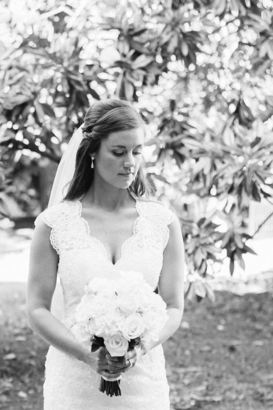 bride-black-and-white-film-533x800 Blair + Hunter Brentwood, TN Wedding