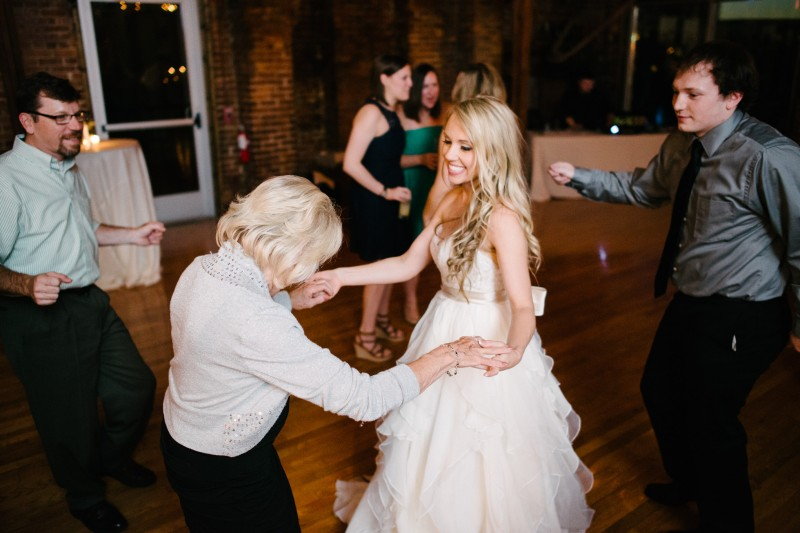 bride-dancing-with-grandmother-800x533 One Cannery Ballroom Nashville 4th of July Wedding | Brian and Jenna