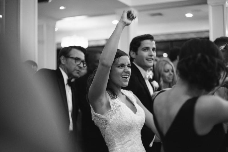 bride-fist-pump-800x533 Blair + Hunter Brentwood, TN Wedding