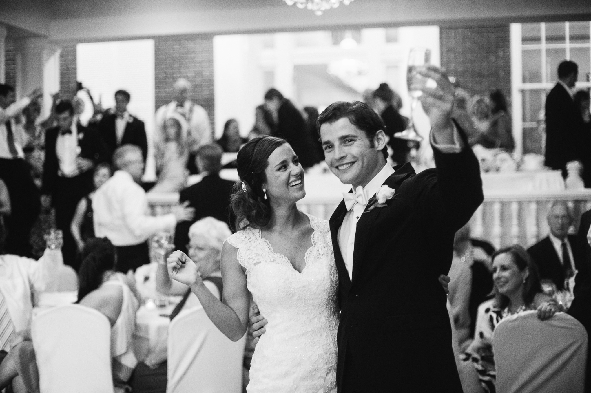 Celladora Wedding Photography | bride-groom-toast