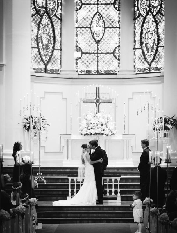 bumc-wedding-ceremony-609x800 Blair + Hunter Brentwood, TN Wedding