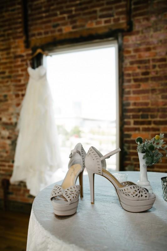 cannery-ballroom-wedding-dress-shoes-533x800 One Cannery Ballroom Nashville 4th of July Wedding | Brian and Jenna