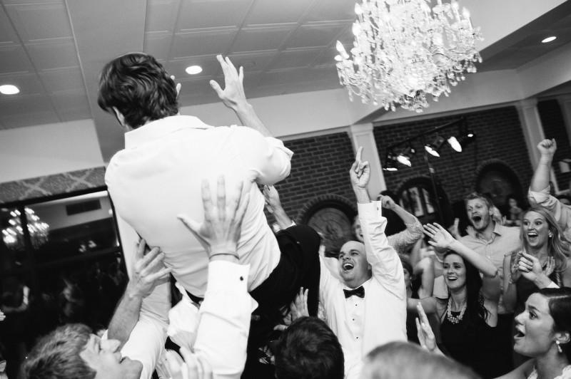 groom-in-air-800x532 Blair + Hunter Brentwood, TN Wedding