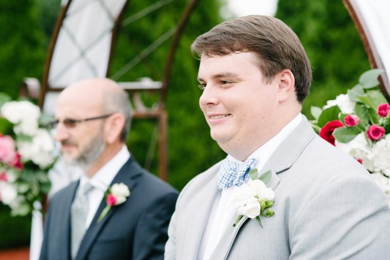 groom-seeing-bride-800x533 Catherine and Zach Hermitage, TN Outdoor Wedding