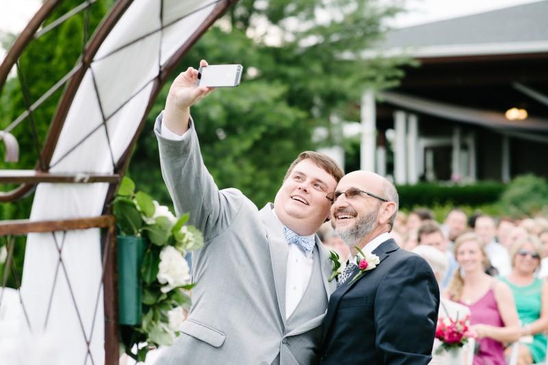 groom-taking-selfie-800x533 Catherine and Zach Hermitage, TN Outdoor Wedding
