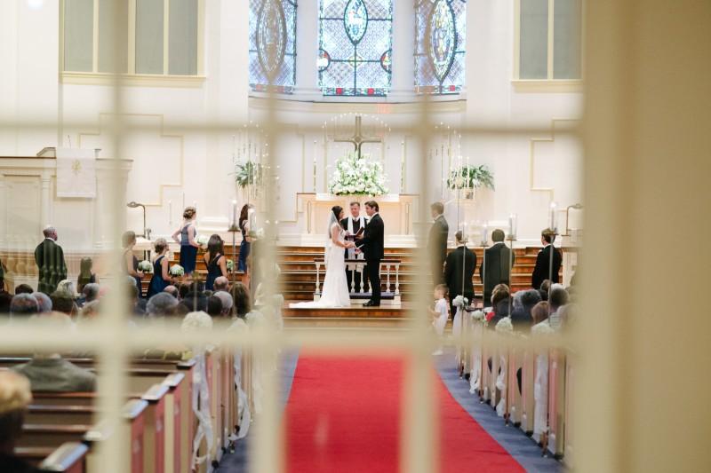 wedding-through-window-800x533 Blair + Hunter Brentwood, TN Wedding
