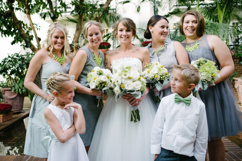 bride-with-fun-bridesmaids1-800x533 Opryland Hotel Wedding in Nashville, TN - Dawn + Keith