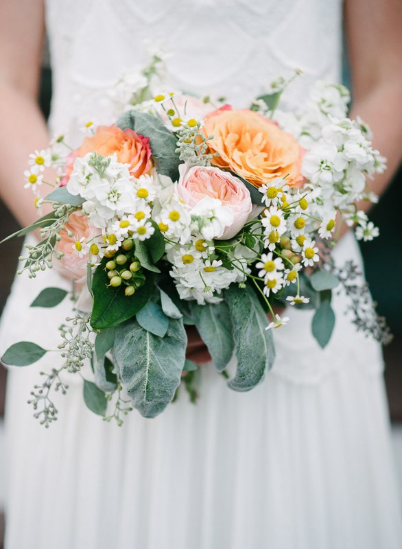 bride-with-flowers-586x800 Front Porch Farms Wedding - Taylor and William