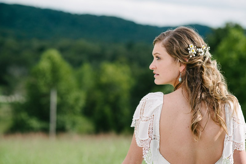 bride-with-open-back-dress-800x534 Front Porch Farms Wedding - Taylor and William