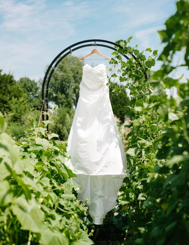 wedding-dress-hanging-outdoors-616x800 Photographing the Wedding Dress | Top Pins on Pinterest