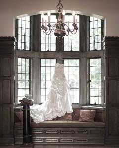 wedding-dress-hanging-up-241x300 Wedding Dress at Scarritt Bennett