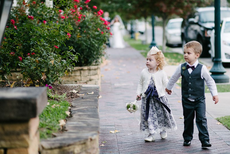 flower-girl-and-ring-bearer-800x534 Jen + Chris Wedding at The Red House, Franklin, TN