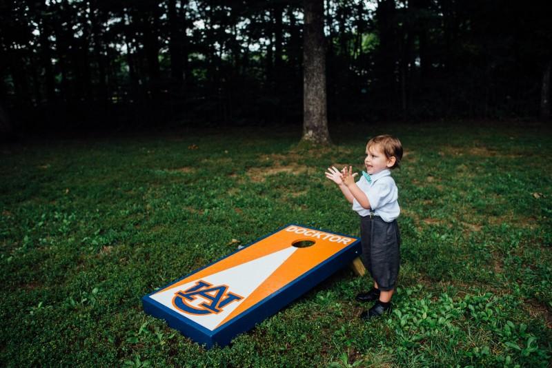 child-playing-cornhole-800x534 Outdoor Barn Wedding | Murfreesoro, TN | Paul and Amanda