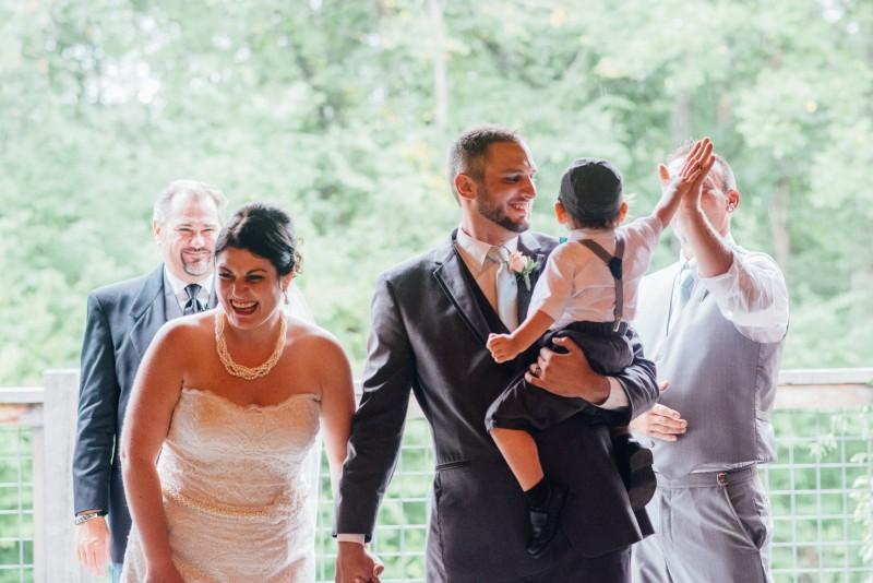 wedding-high-five-800x534 Outdoor Barn Wedding | Murfreesoro, TN | Paul and Amanda
