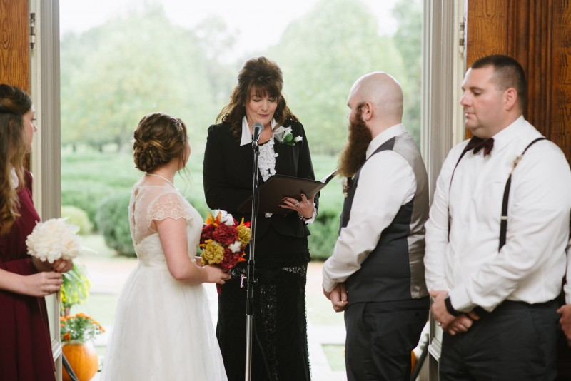 wedding-ceremony-800x534 Two Rivers Mansion Fall Wedding | Kristen and Chris