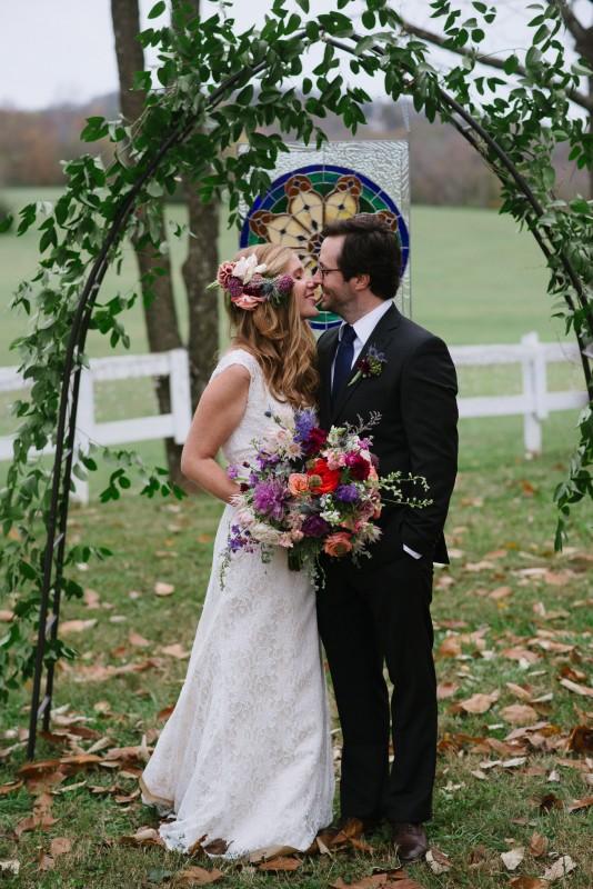 anticipation-kiss-534x800 Laurie + Craig - Antrim Wedding   Columbia, TN