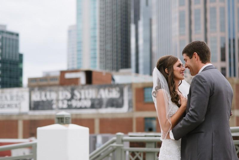 beautiful-first-look-800x534 Kristen and Nick Wedding at aVenue | Nashville, TN
