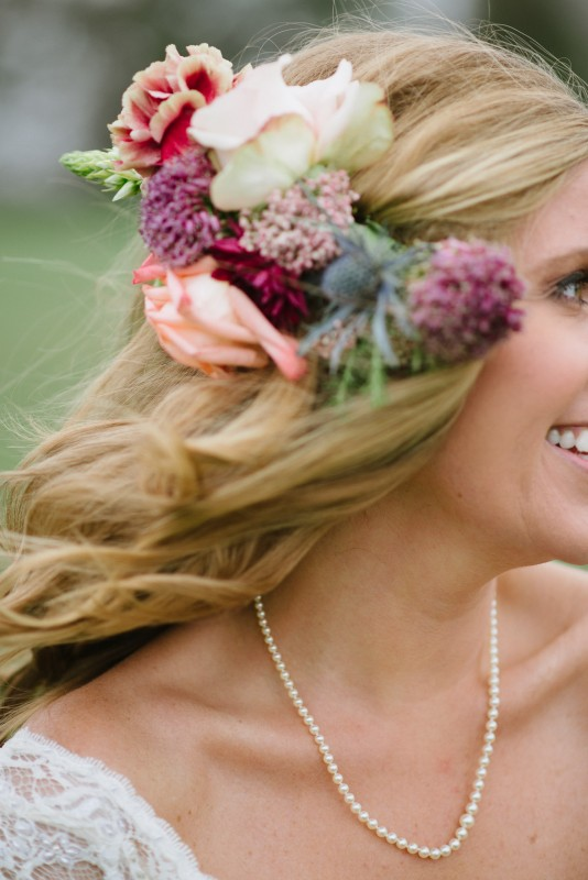bridal-hair-flowers-534x800 Laurie + Craig - Antrim Wedding   Columbia, TN
