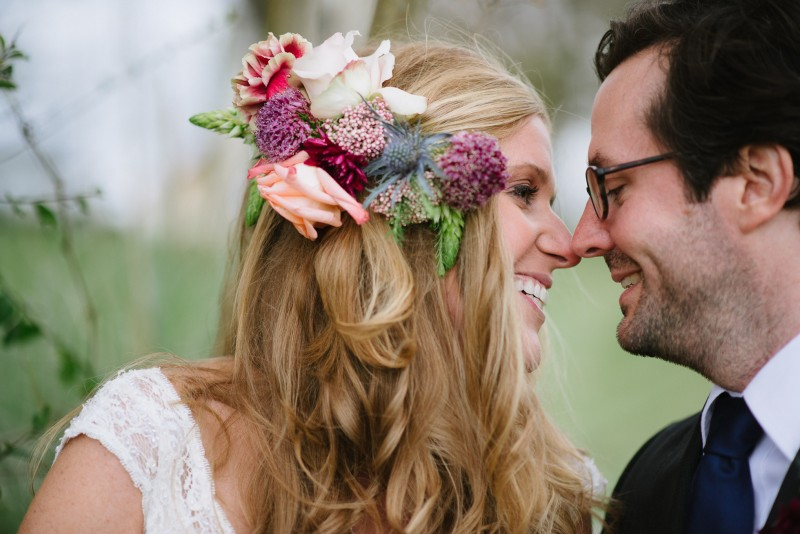 bride-groom-touching-nose-800x534 Laurie + Craig - Antrim Wedding   Columbia, TN