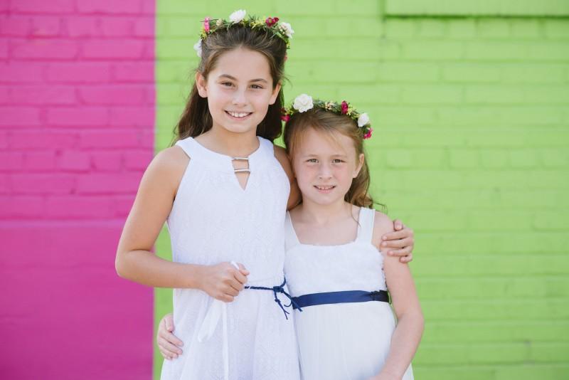 flower-girls-colorful-800x534 Elisa + Jerrad Wedding | Balinese Ballroom | Memphis, TN