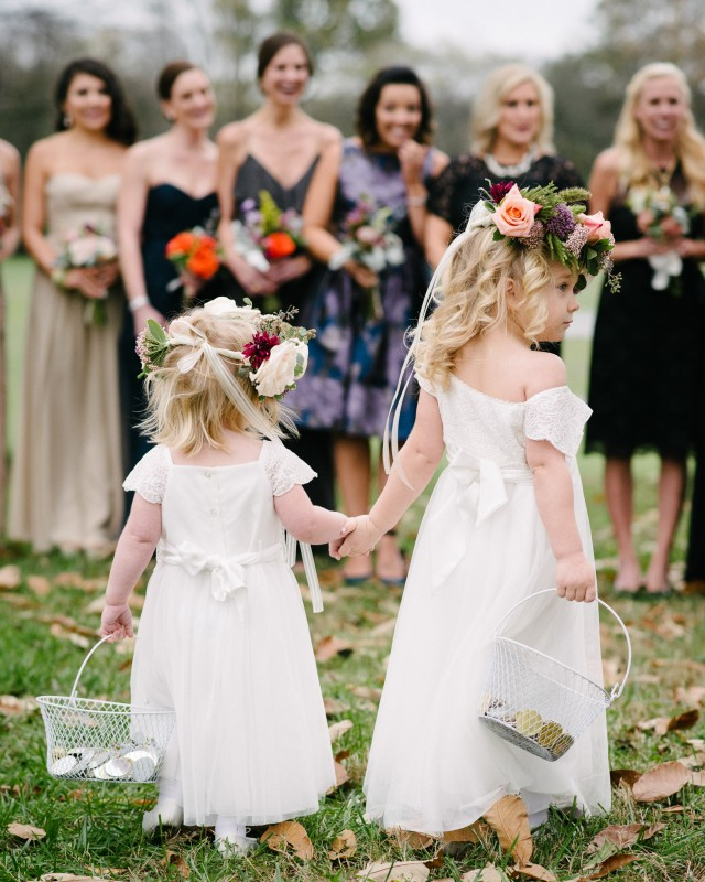 flower-girls-wedding-640x800 Laurie + Craig - Antrim Wedding   Columbia, TN