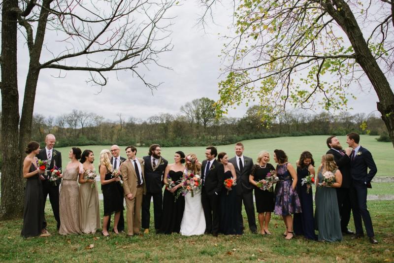 fun-bridal-party-poses-800x534 Laurie + Craig - Antrim Wedding   Columbia, TN