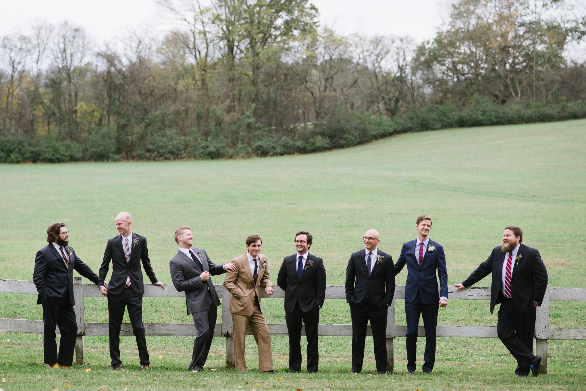 fun groomsmen poses celladora wedding photography