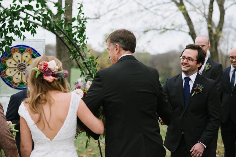 groom-seeing-bride1-800x534 Laurie + Craig - Antrim Wedding   Columbia, TN