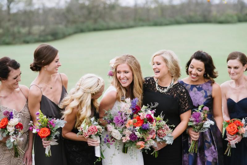 laughing-bridemaids-800x534 Laurie + Craig - Antrim Wedding   Columbia, TN