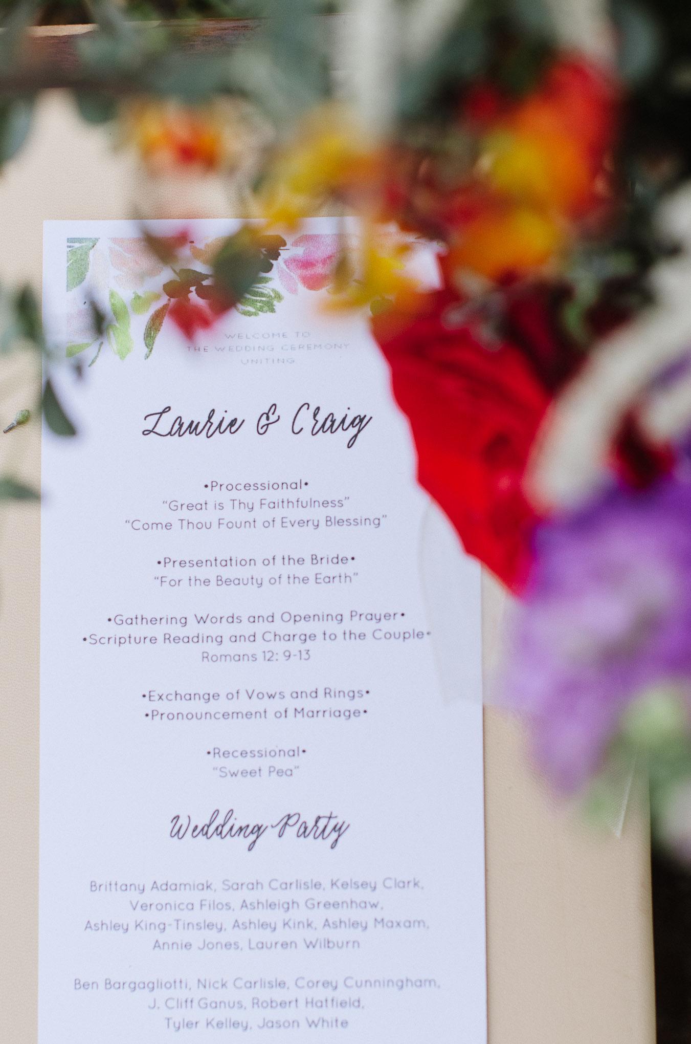 Old Fashioned Orchid Wedding Favors Vignette - Blue Wedding Color ...