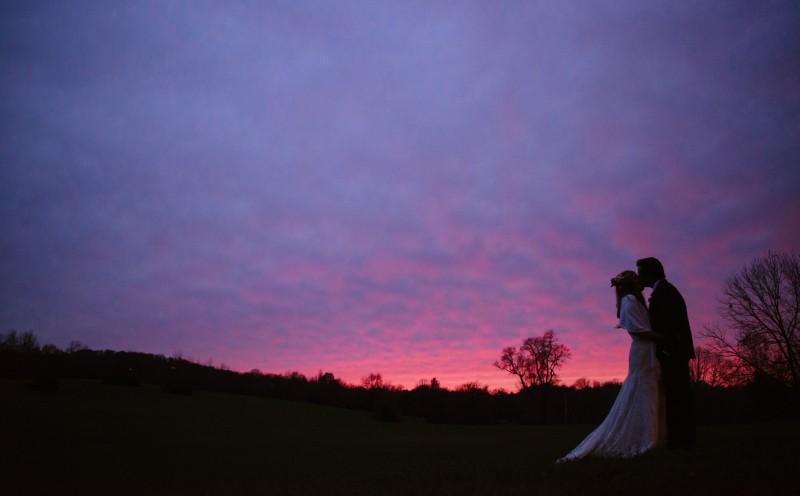 perfect-sunset-wedding-photo-800x496 Laurie + Craig - Antrim Wedding   Columbia, TN
