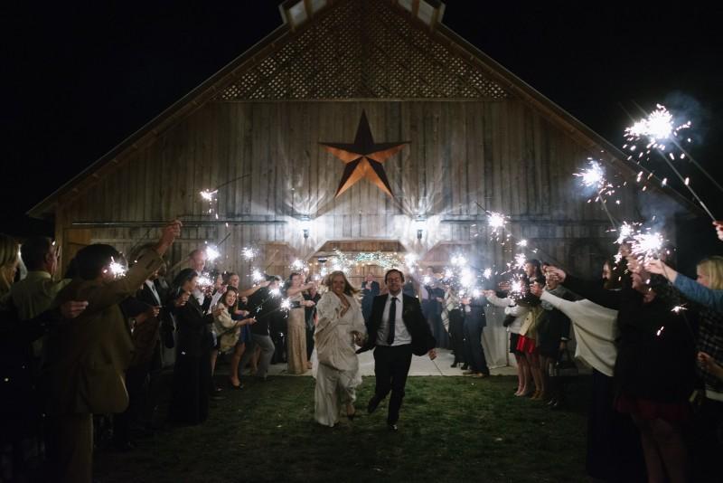 sparkler-exit-color-epic-800x534 Laurie + Craig - Antrim Wedding   Columbia, TN