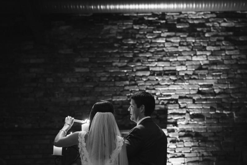 unity-candle-lighting-800x534 Kristen and Nick Wedding at aVenue | Nashville, TN
